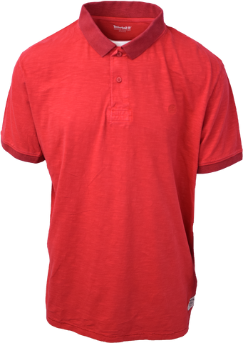 Timberland Men's Red S/S Polo Shirt S04