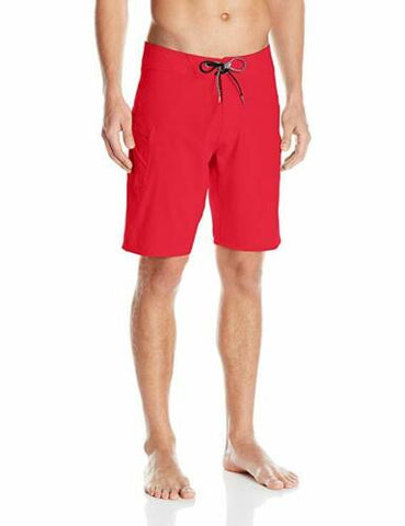 Volcom Men's Lido Solid Mod 4 Way Stretch Board Shorts