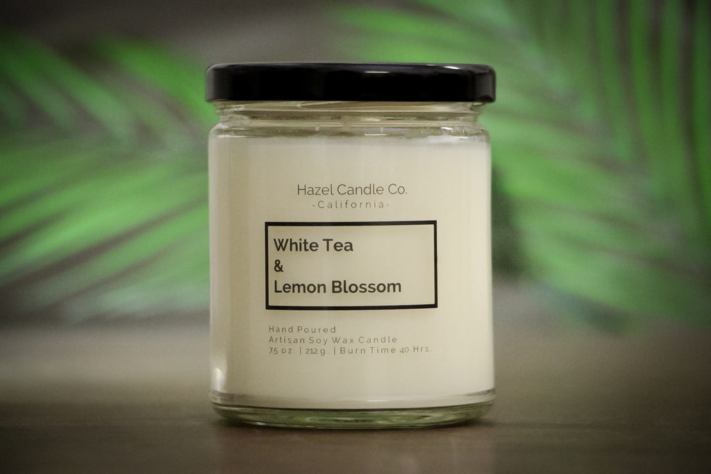 White Tea & Lemon Blossom Soy Candle