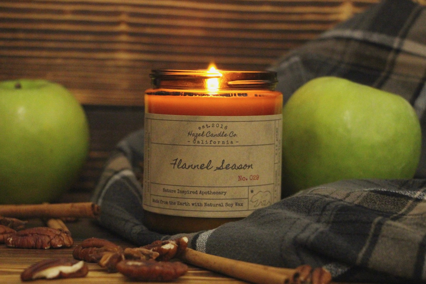 Flannel Season Soy Candle