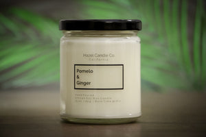 Pomelo & Ginger Soy Candle