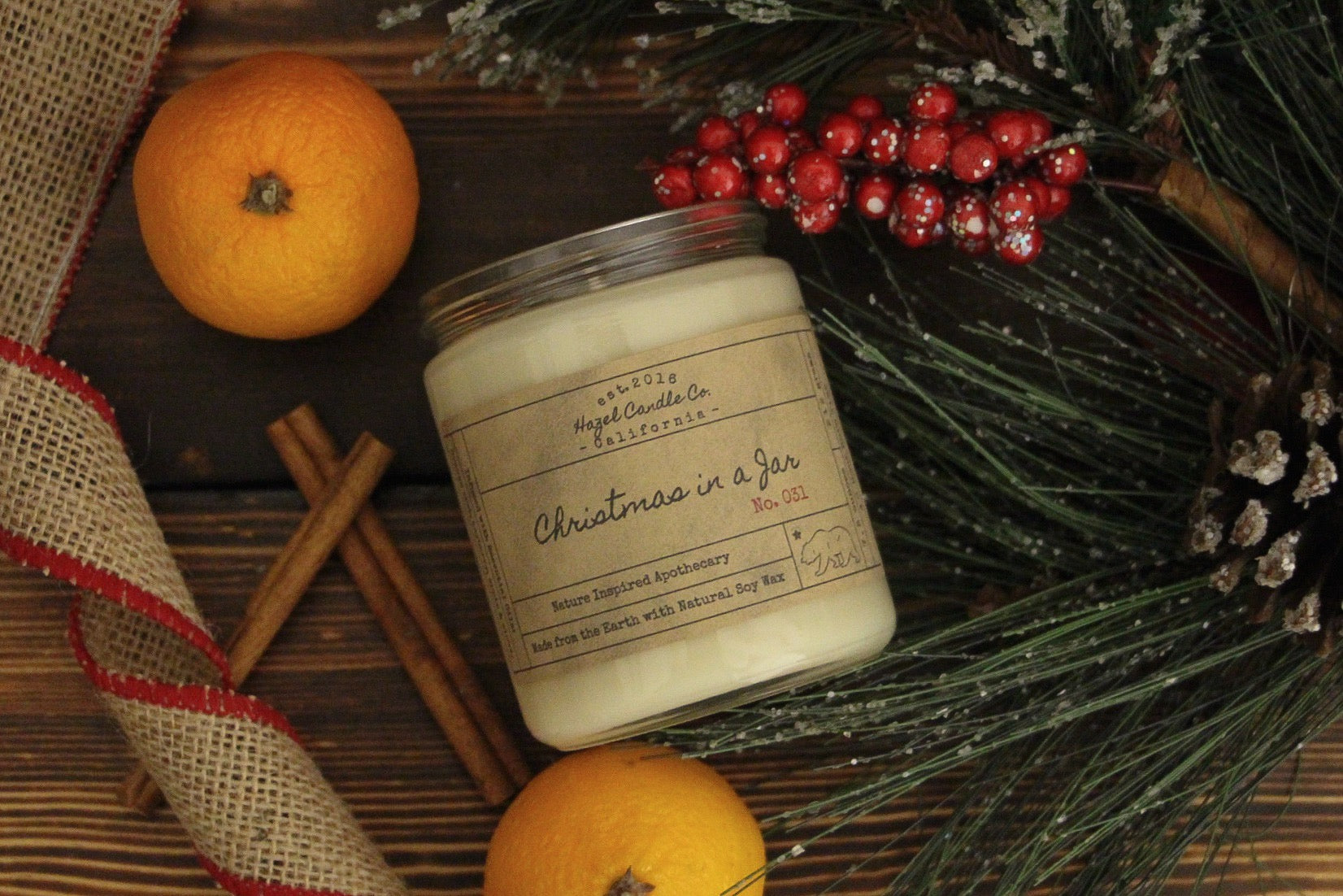 Christmas in a Jar & California Pine Gift Box Set