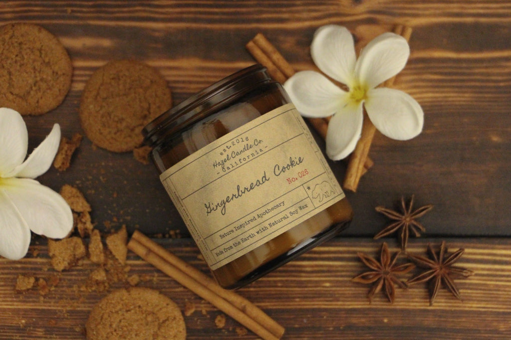 Gingerbread Cookie Soy Candle
