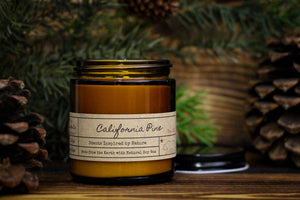 California Pine Soy Candle