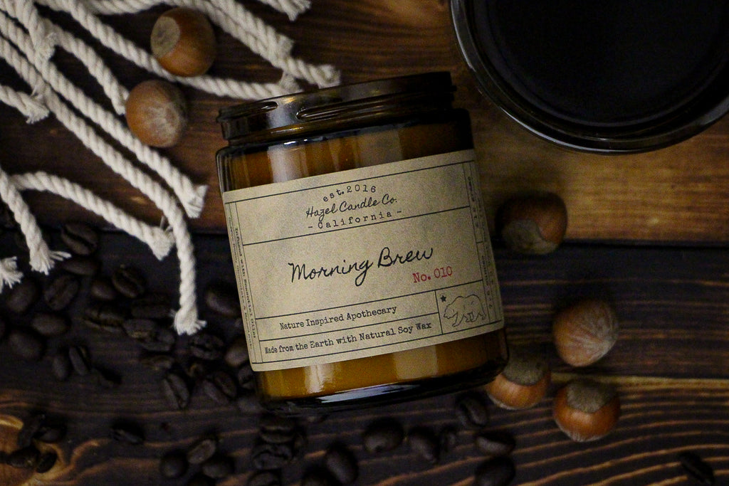 Morning Brew Soy Candle