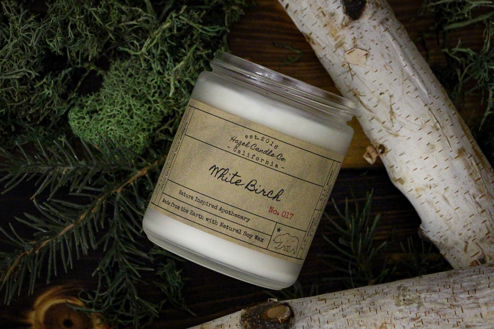White Birch Soy Candle