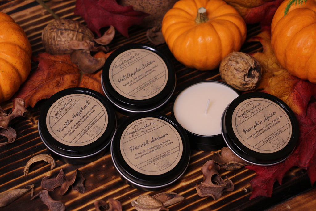 Fall Scent Sample Pack