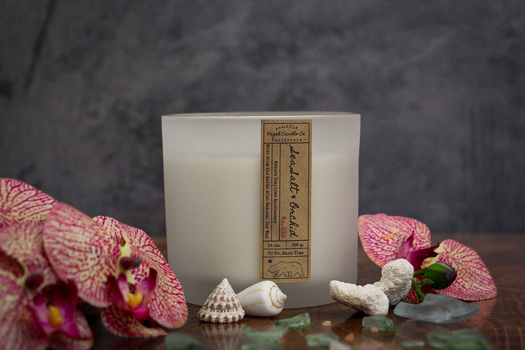Sea Salt & Orchid Double Wick