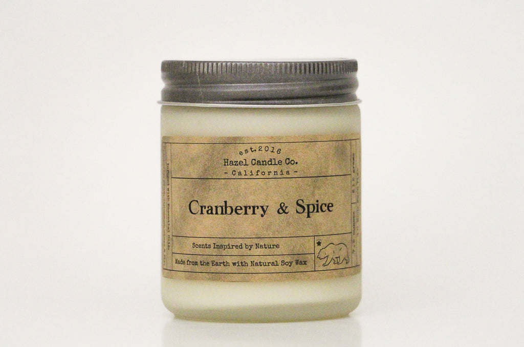 Cranberry & Spice Soy Candle