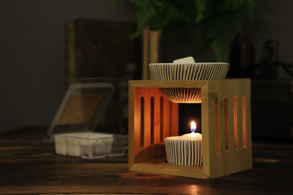 Bamboo Wax Melter