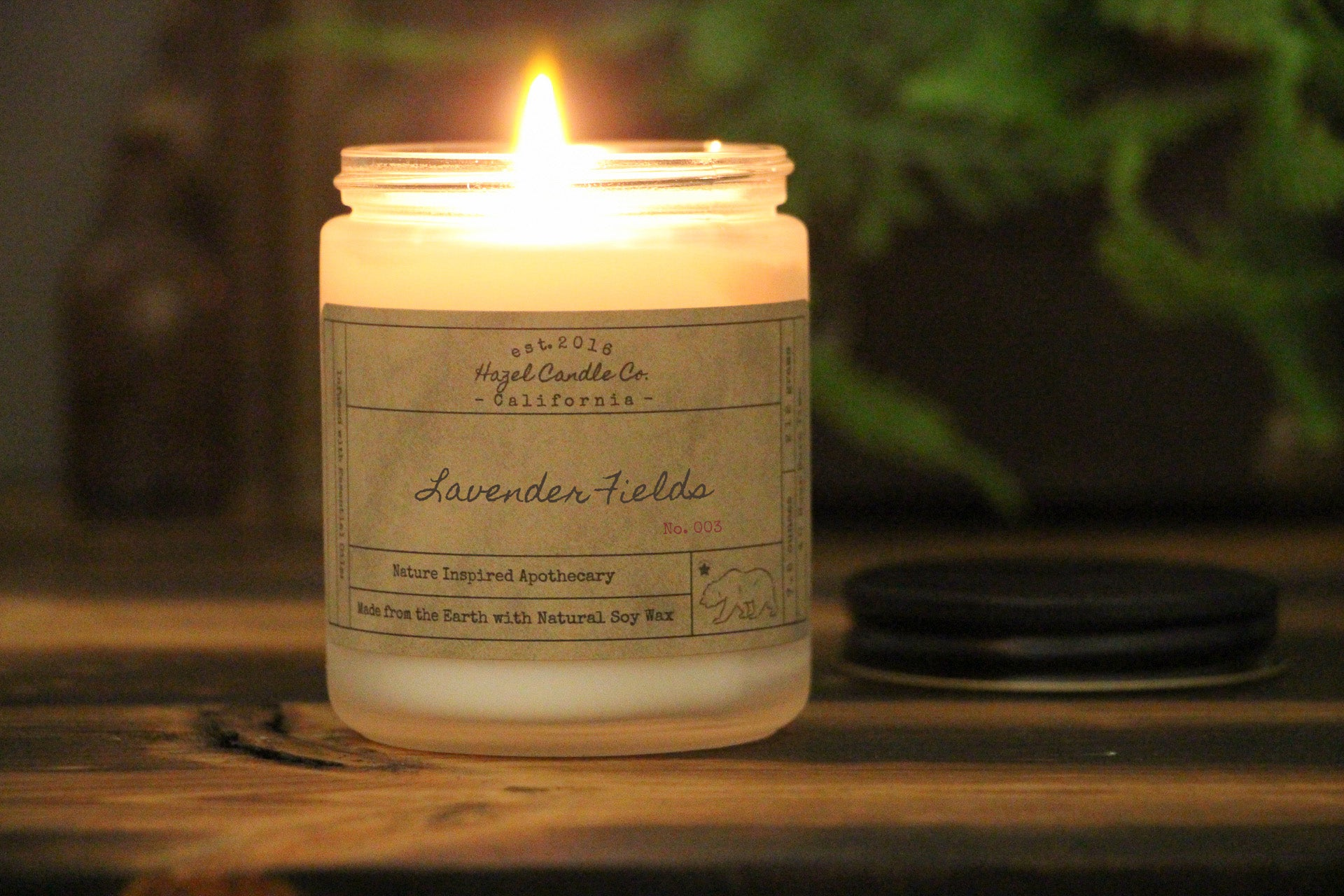 Lavender Fields Soy Candle
