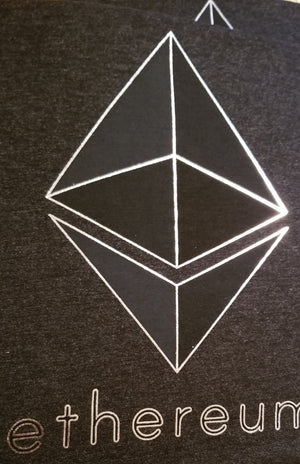 Heather Black Ethereum Shirt
