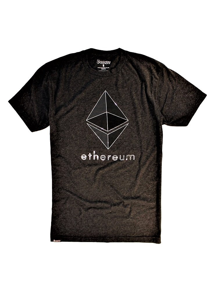 [Heather Black Ethereum Shirt] - Doohtz