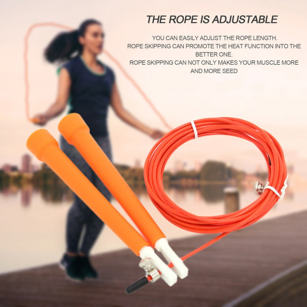 3M ABS Anti-slip Handle Jump Speed Skipping Ropes Adjustable Training Training Boxing Sports Exercises Gym Fitness Equipment