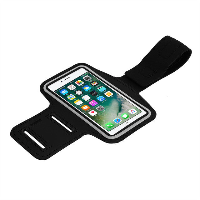 Powstro Adjustable Sport GYM Bag Case For Apple iPhone 5 6S Plus SE Waterproof Jogging Arm Band Mobile Phone Bag