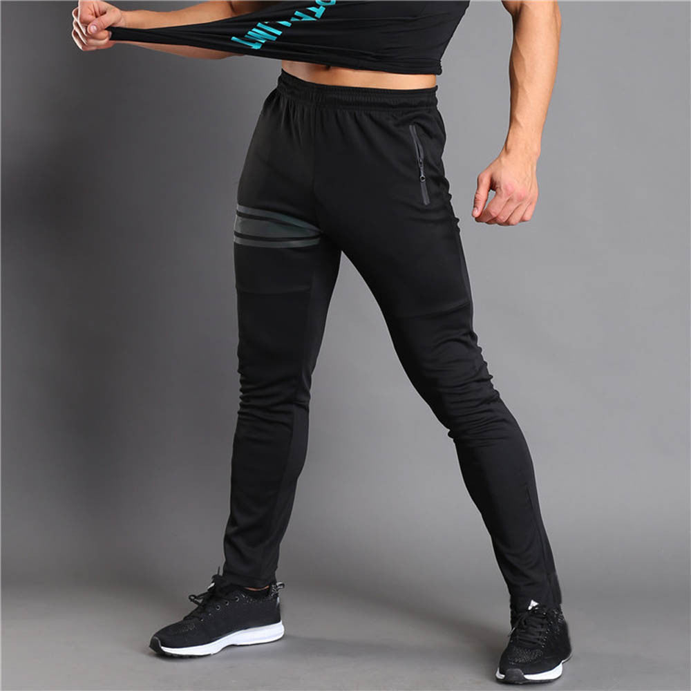 Men Long Casual Sport Pants Gym Slim Fit Trousers Running Jogger Gym Sweatpants