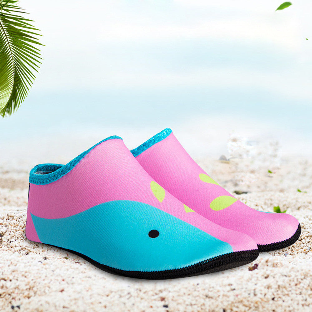 Children Swimm Diving Socks Outdoor Water Sport Scratche Non-Slip Shoes Seaside