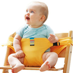 Infant Chair Portable Seat Dining Lunch Chair Seat Safety Belt Stretch Wrap Feeding Chair Harness baby Booster Seat