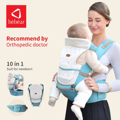 2018 new hipseat for newborn and prevent o-type legs 6 in 1 carry style loading bear 20Kg Ergonomic baby carriers  kid sling