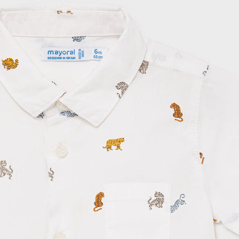 Mayoral Baby Shirt -Animal Print-Mayoral-NorthBoys