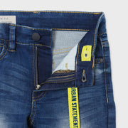 Nukutavake Boys Soft Denim Medium Blue Jeans