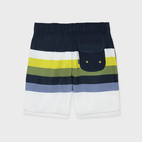 Nukutavake Striped Swim Shorts