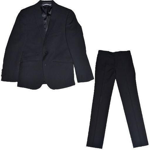 Marc New York Boys Classic Skinny Black Suit Suits (Boys) Marc New York