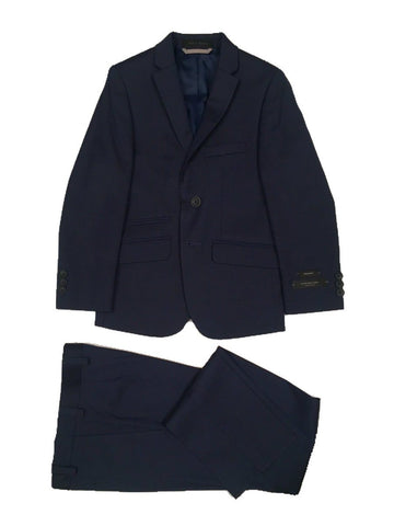 Marc New York Boys Skinny Blue Sharkskin Suit W0570 Suits (Boys) Marc New York