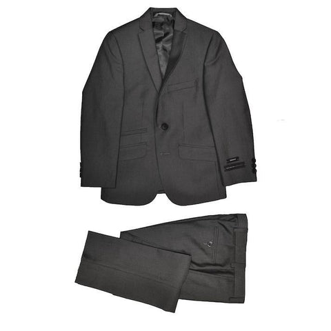 Andrew Marc Boys Skinny Grey Suit W0052 Suits (Boys) Marc NY Andrew Marc Grey 20S