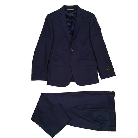 Marc New York Boys Slim Neat Blue Suit W0461 Suits (Boys) Marc New York