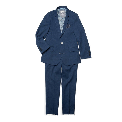 Appaman Boys Mod Twilight Blue Slim Suit U8SU4 Suits (Boys) Appaman