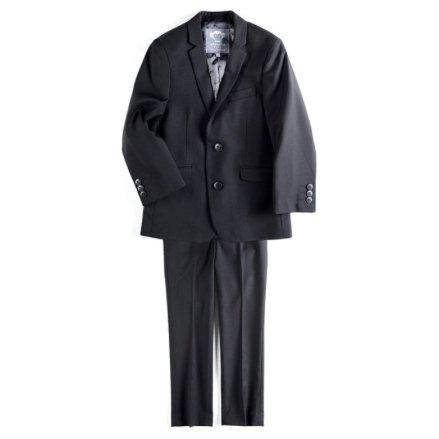 Appaman Mod Boys Slim Classic Black Suit Suits (Boys) Appaman Black 3T