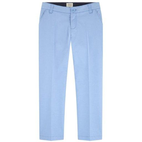 Armani Junior Cotton Pant 181 3Z4P14 Cotton Pants Armani Sky Blue 10S