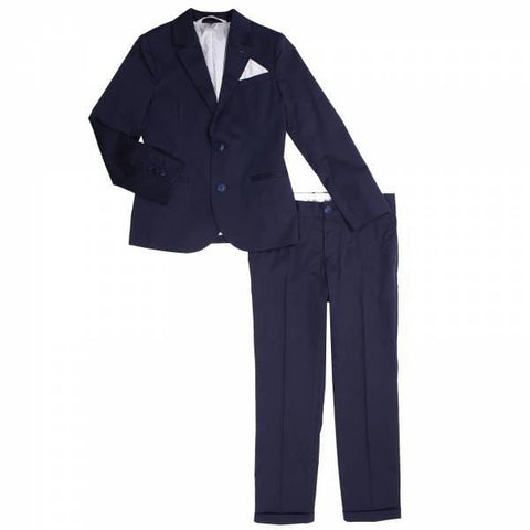 Armani Junior Cotton Suit 171 3Y4V01 Suits (Boys) Armani Junior