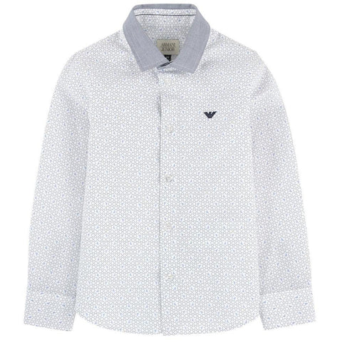 Armani Junior Shirt 172 6Y4C02 Dress Shirts Armani Junior