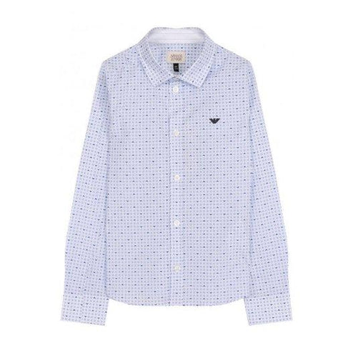 Armani Junior Shirt 181 3Z4C01 Dress Shirts Armani Junior White 8S