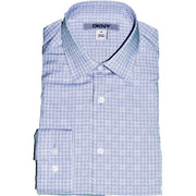 DKNY Boys Shirt 171 SY0260 Dress Shirts DKNY Blue 12R