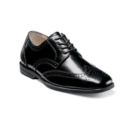 Florsheim Kid's Shoe Reveal Wingtip Jr. Footwear - Youth - Non Designer Florsheim