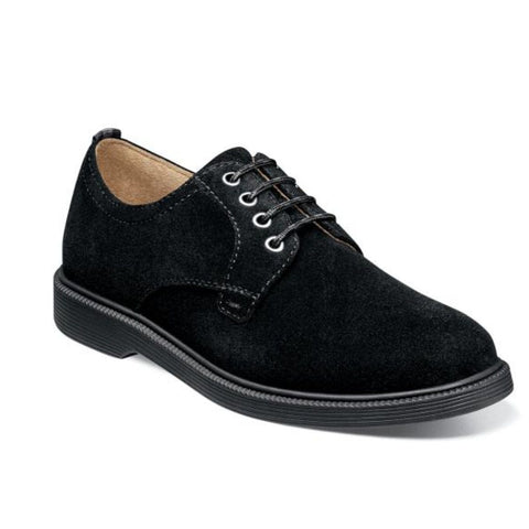 Florsheim Kid's Shoe Supacush Jr. Black Suede 16630-008 Footwear - Youth - Non Designer Florsheim
