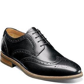 Florsheim Men's Uptown Wingtip Oxford Shoe 15170 Footwear - Mens Florsheim Black 10D