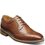 Florsheim Men's Uptown Wingtip Oxford Shoe 15170 Footwear - Mens Florsheim Cognac 9D