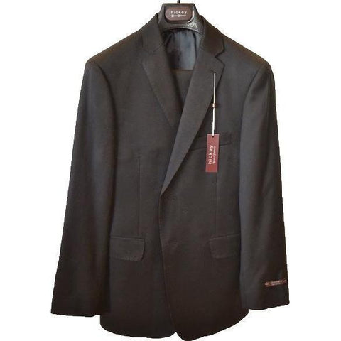Hickey Freeman Boys Suit Black 0010 Suits (Boys) Hickey Freeman