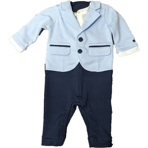 Hugo Boss Baby One Piece Dressy Outfit J94219 Suits (Boys) Hugo Boss