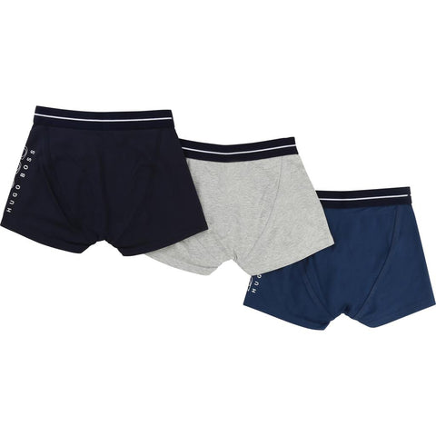 Hugo Boss Boys Boxers (Set of 3) 172 J27065 Underwear Hugo Boss