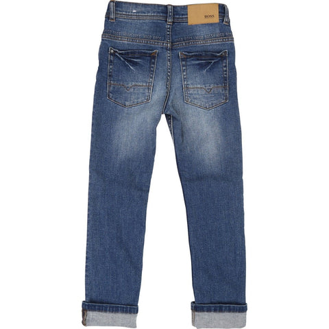 Hugo Boss Boys Denim Jeans J24576 Denim Hugo Boss