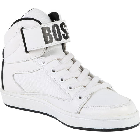 Hugo Boss Boys High Top Shoe 182 J29160 Footwear - Youth - Designer Hugo Boss