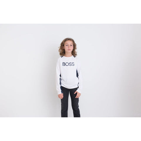 Hugo Boss Boys Long Sleeve T-Shirt 192 J25E40 T-Shirts Hugo Boss