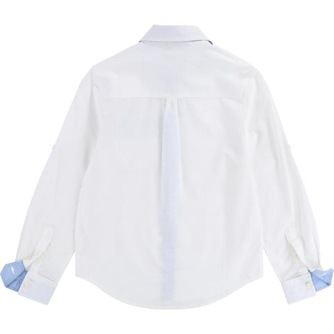 Hugo Boss Boys l/s Dress Shirt 181 J25C13 Dress Shirts Hugo Boss