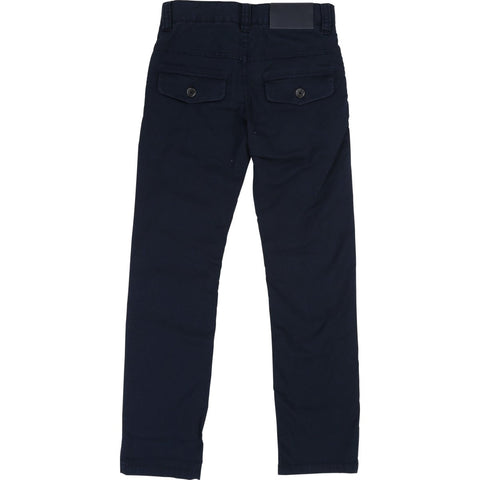Hugo Boss Boys Navy Cotton Pants J24570 Cotton Pants Hugo Boss