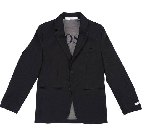Hugo Boss Boys Slim Dark Navy Blazer J26374 Sports Jackets Hugo Boss